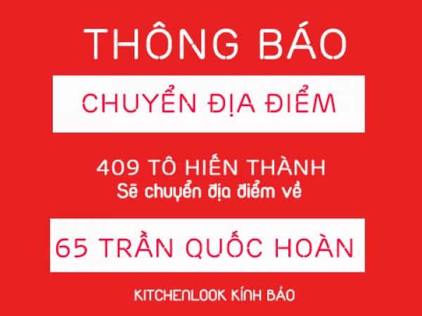 THÔNG BÁO CHUYỂN CHI NHÁNH TP. HỒ CHÍ MINH VỀ 65 TRẦN QUỐC HOÀN