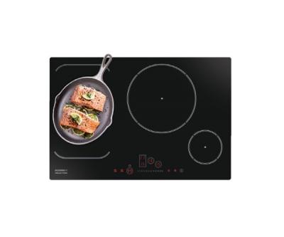 Bếp từ không giới hạn vùng nấu